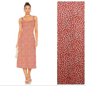 NWT Free People Lorelai Printed Dress Size M, L.